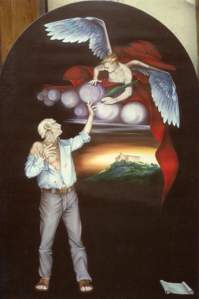 Vincenzo Paudice, Beato Zeffirino - Pala d'altare Sacro Cuore, Eboli