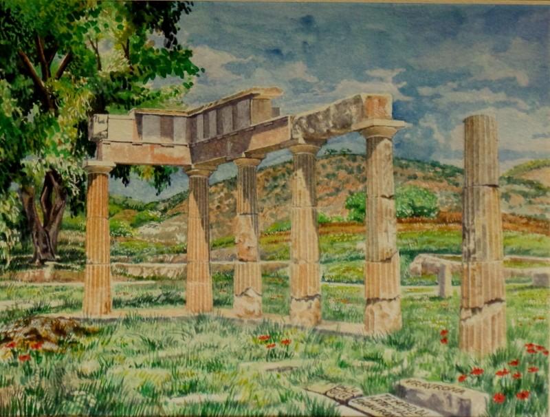 Vincenzo Paudice - Brauron, Santuario di Artemide
