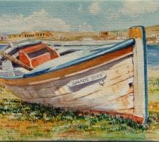 Vincenzo Paudice - Delos, Barca in disarmo