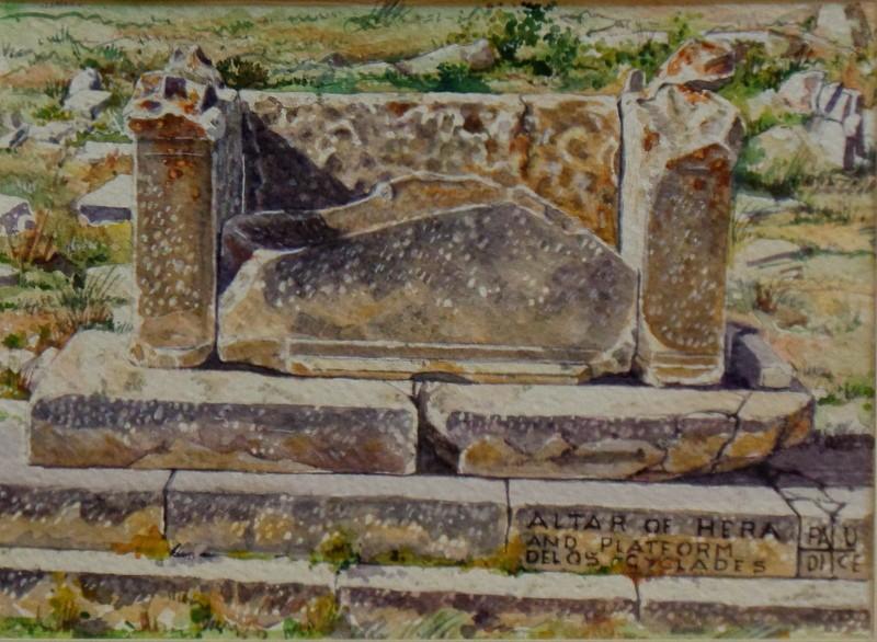 Vincenzo Paudice - Delos, Altare di Hera