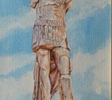 Vincenzo Paudice - Delos, Statua di Gaius Bellienus