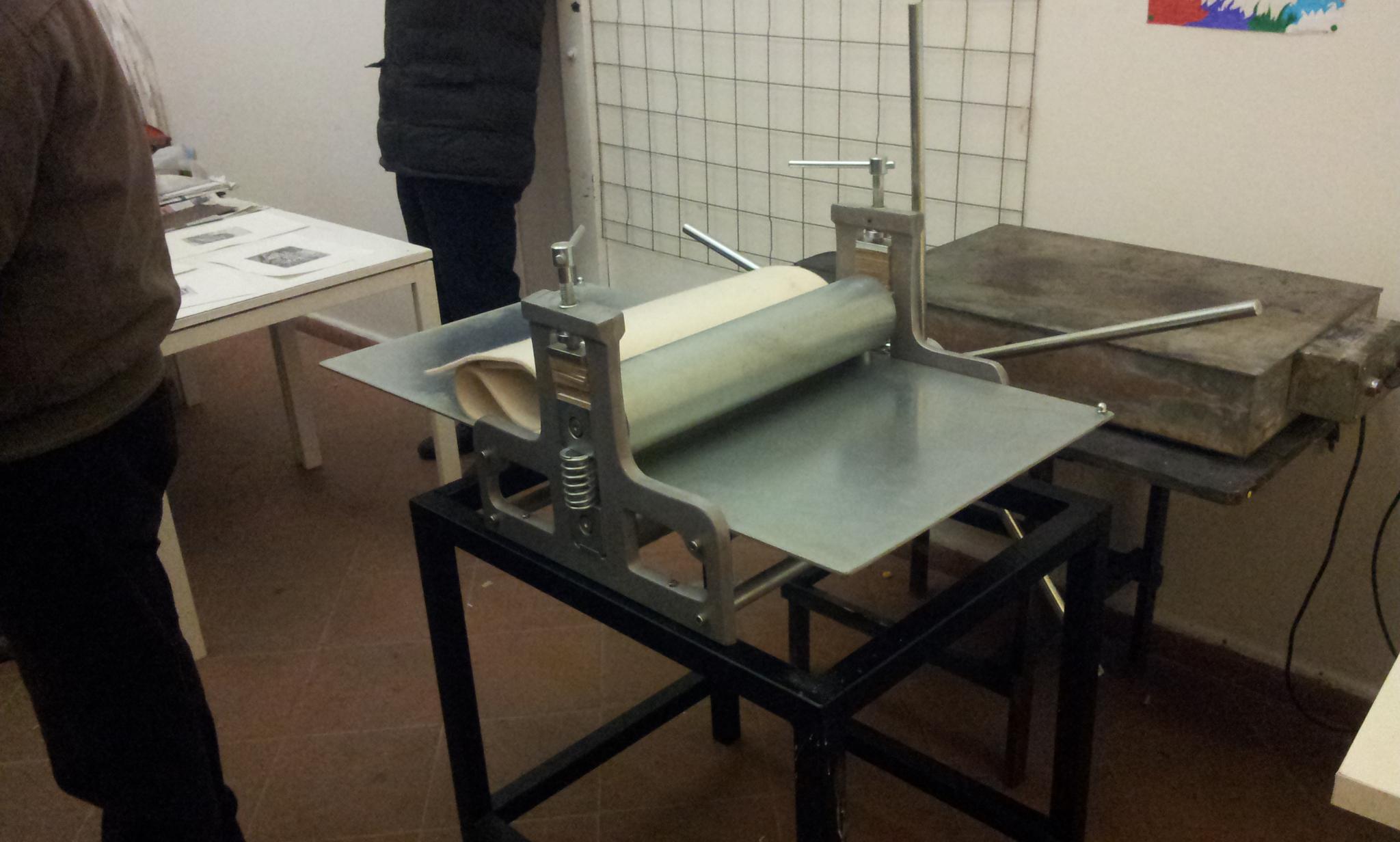Matteo Ripa - Giornata studio - Presso calcografica