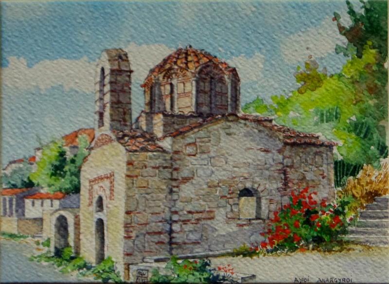 Vincenzo Paudice - Nomitsi, Chiesa di Agyoi Anargyroi