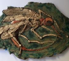 Vincenzo Paudice - Raku - Fossile zanzara