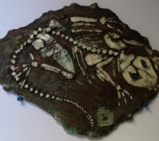Vincenzo Paudice - Raku - Fossile