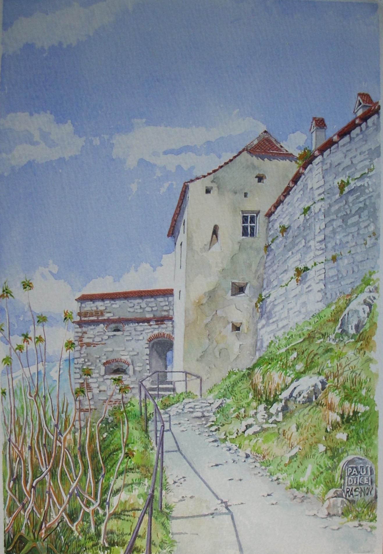 Vincenzo Paudice - Transilvania, Castello di Râșnov, Ingresso secondario