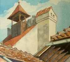 Vincenzo Paudice - Transilvania, Castello di Bran, Torre maestra