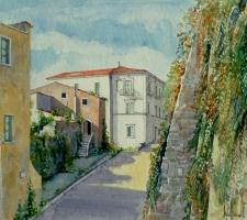 Vincenzo Paudice - Eboli, Via Castello, primi anni '80