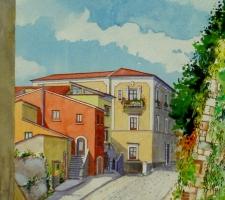 Vincenzo Paudice - Eboli, Via Castello