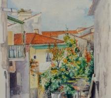 Vincenzo Paudice - Eboli, Centro antico, Via Catoio
