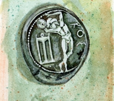 Vincenzo Paudice - Moneta d'argento emessa dall'isola di Kos