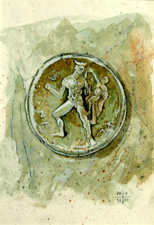 Vincenzo Paudice - Moneta d'argento del V sec. a.C.