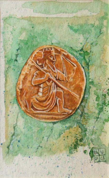 Vincenzo Paudice - Moneta d'oro persiana 522 - 486 a.C.