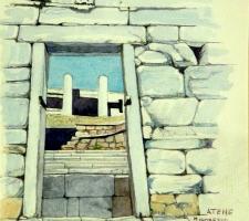 Vincenzo Paudice - Atene, Ingresso all'Acropoli
