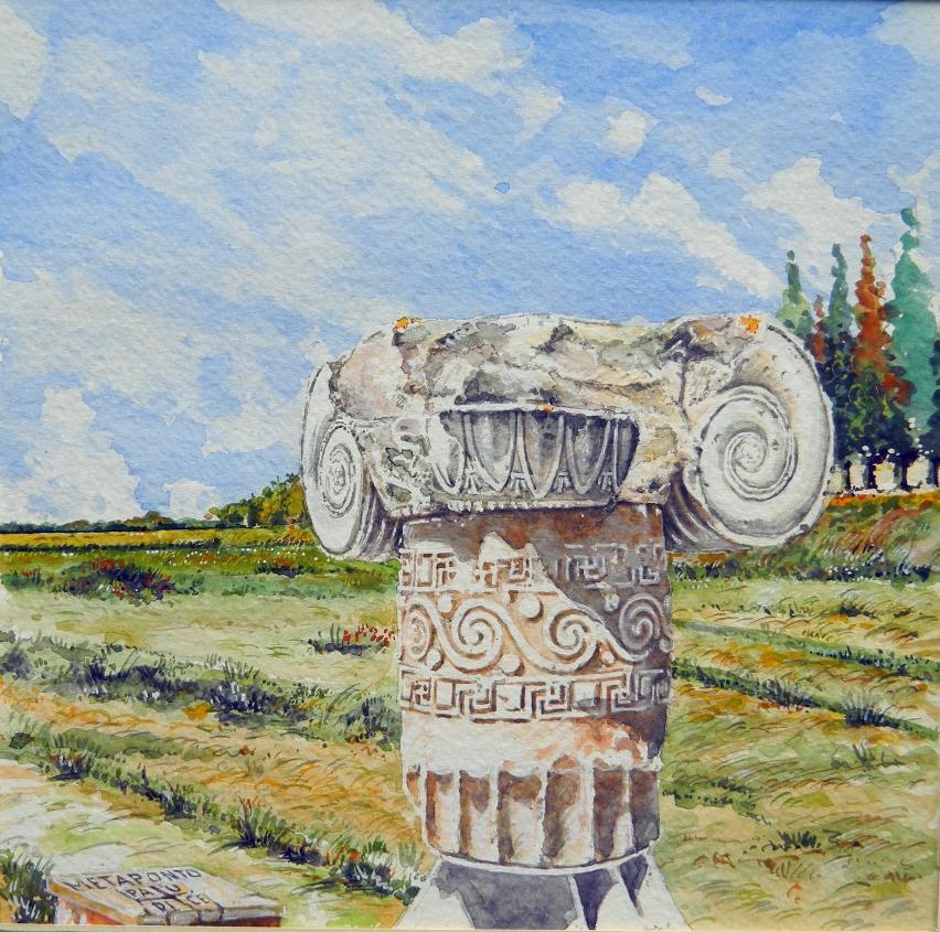 Vincenzo Paudice - Metaponto, Capitello ionico