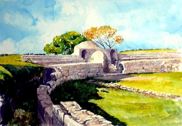 Vincenzo Paudice - Paestum, Anfiteatro