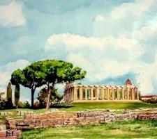 Vincenzo Paudice - Paestum, Tempio di Cerere