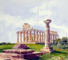Vincenzo Paudice - Paestum, Tempio di Athena