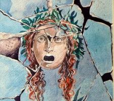 Vincenzo Paudice - Pompei, Ritratto di gorgone