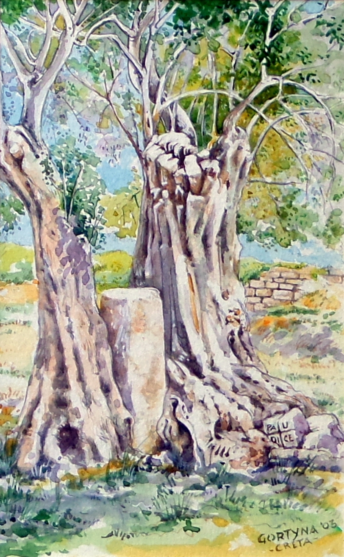 Paudice Vincenzo - Gortyna, Parco archeologico