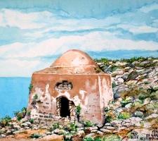 Vincenzo Paudice - Gramvousa, Fortezza veneziana, Resti di casa turca