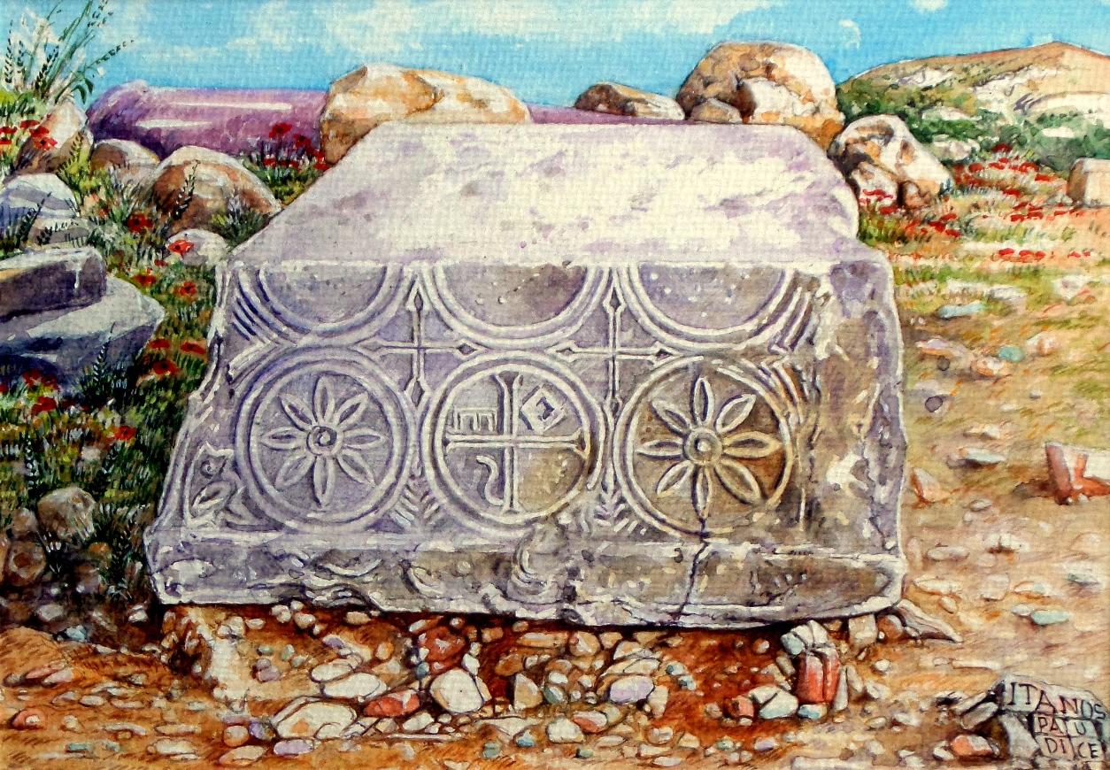 Vincenzo Paudice - Itanos, Resti della basilica paleocristiana