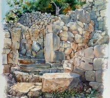 Vincenzo Paudice - Latò, Testimonianze doriche presso Kritsa