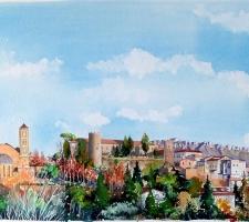 Vincenzo Paudice - Eboli, Castello Colonna, Santuario SS Cosma e Damiano