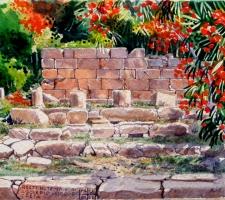 Vincenzo Paudice - Lissos, tempio di Asclepio