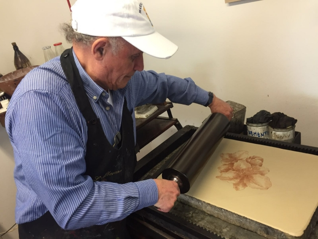 Vincenzo Paudice - Inchiostro su lastra litografica