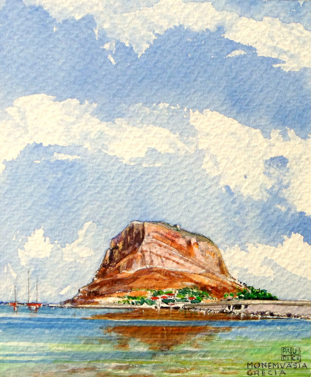 Vincenzo Paudice - Monemvasia, Isolotto di Monemvasia