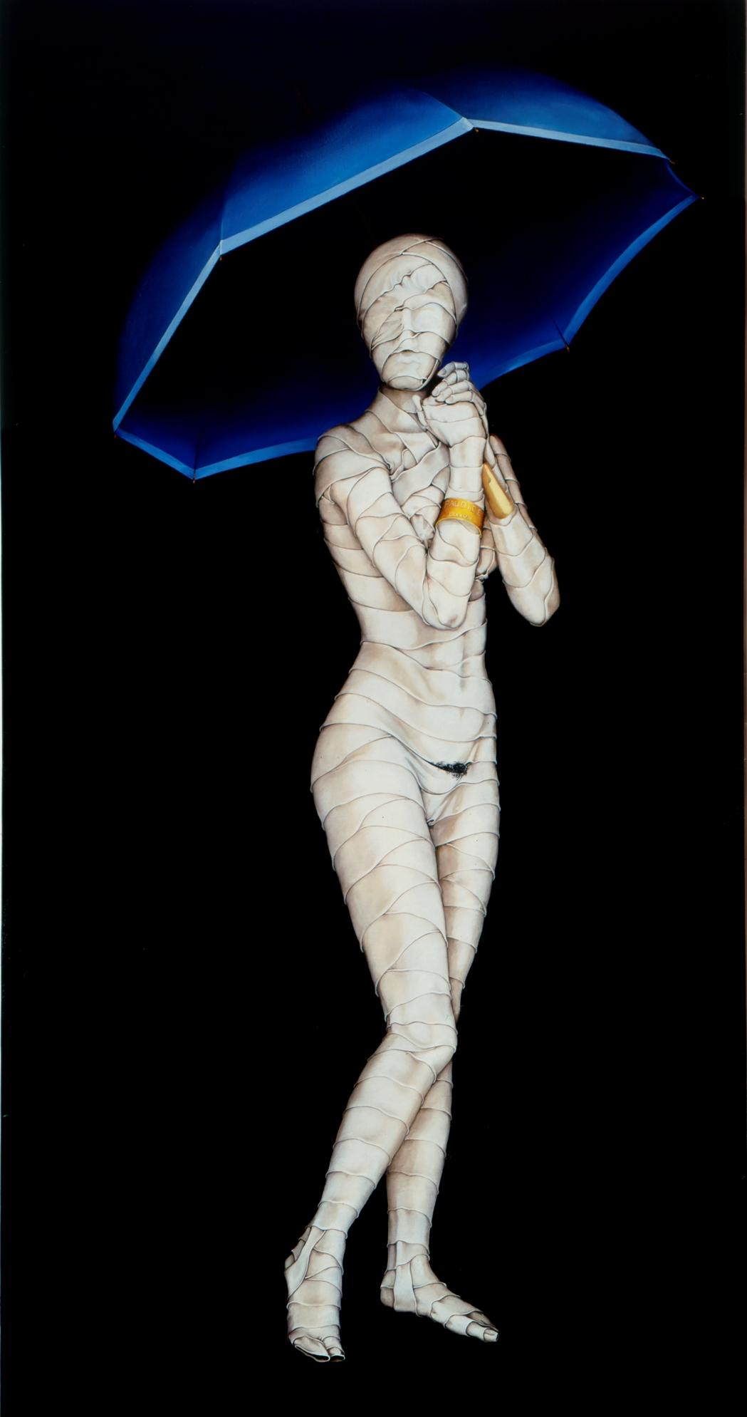 Vincenzo Paudice - Signora con ombrello